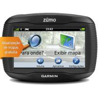 010-01186-05 - Garmin ZUMO 390LM c/ Mapas Vitalícios (Atualização de Mapas GRATUITA)