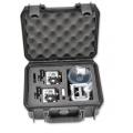 Hard Case Hermético p/ 2 Câmeras GoPro Hero + Acessórios - iSeries