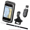 RAM-HOL-AQ7-1CU - Case a Prova D'Água Pequeno SmarthPhone c/ Clipe de Cinto / Clipe RAM / Cordão