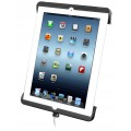 RAM-HOL-TABDL14 - Case iPad 4 c/ Plug de Alimentação e Trava de Segurança