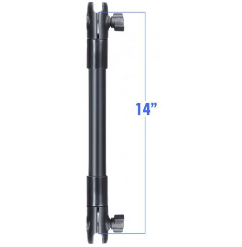 """RAP-BB-201-14U - Braço Extensivo (14cm) de 1"""" a 1"""""""